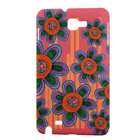 Colorful Floral Dream Samsung Galaxy Note 1 Hardshell Case
