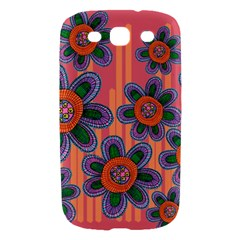 Colorful Floral Dream Samsung Galaxy S III Hardshell Case