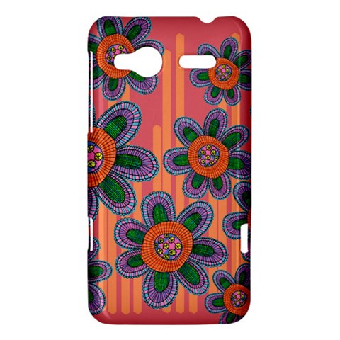 Colorful Floral Dream HTC Radar Hardshell Case