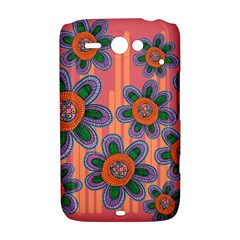 Colorful Floral Dream HTC ChaCha / HTC Status Hardshell Case
