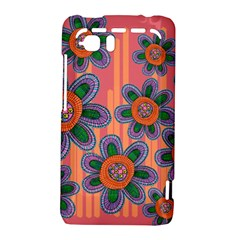 Colorful Floral Dream HTC Vivid / Raider 4G Hardshell Case