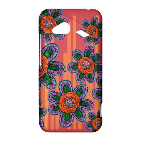 Colorful Floral Dream HTC Droid Incredible 4G LTE Hardshell Case
