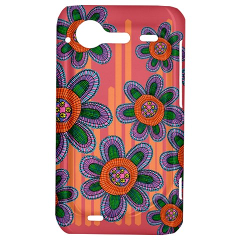 Colorful Floral Dream HTC Incredible S Hardshell Case
