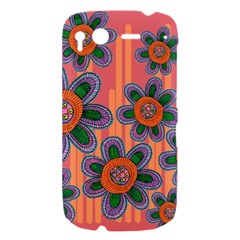 Colorful Floral Dream HTC Desire S Hardshell Case