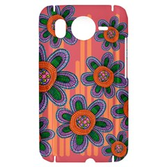 Colorful Floral Dream HTC Desire HD Hardshell Case