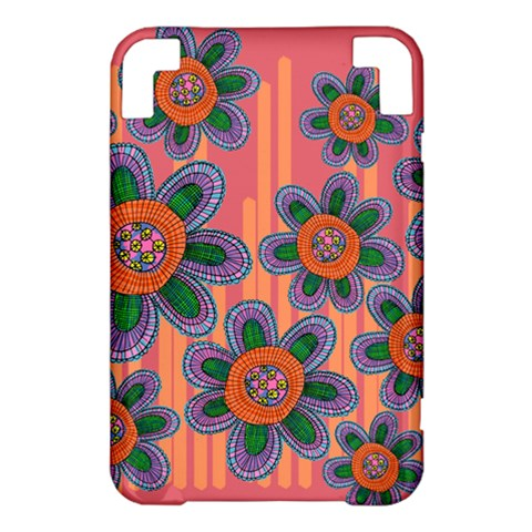 Colorful Floral Dream Kindle 3 Keyboard 3G