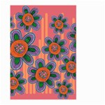 Colorful Floral Dream Large Garden Flag (Two Sides) Back
