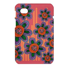 Colorful Floral Dream Samsung Galaxy Tab 7  P1000 Hardshell Case