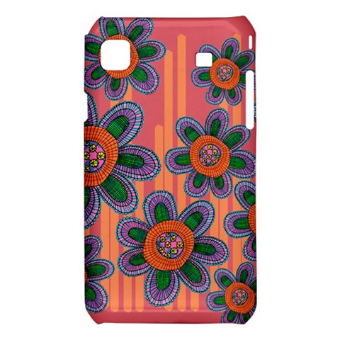 Colorful Floral Dream Samsung Galaxy S i9008 Hardshell Case