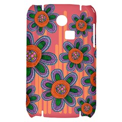 Colorful Floral Dream Samsung S3350 Hardshell Case