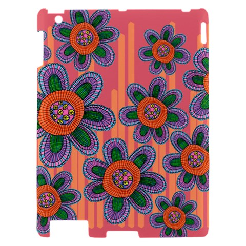 Colorful Floral Dream Apple iPad 2 Hardshell Case