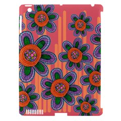 Colorful Floral Dream Apple iPad 3/4 Hardshell Case (Compatible with Smart Cover)