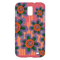 Colorful Floral Dream Samsung Galaxy S II Skyrocket Hardshell Case