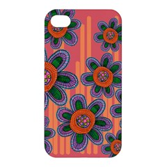Colorful Floral Dream Apple iPhone 4/4S Premium Hardshell Case
