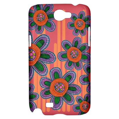 Colorful Floral Dream Samsung Galaxy Note 2 Hardshell Case