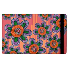 Colorful Floral Dream Apple Ipad 2 Flip Case