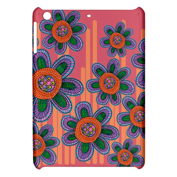 Colorful Floral Dream Apple iPad Mini Hardshell Case