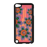 Colorful Floral Dream Apple iPod Touch 5 Case (Black) Front