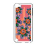 Colorful Floral Dream Apple iPod Touch 5 Case (White) Front