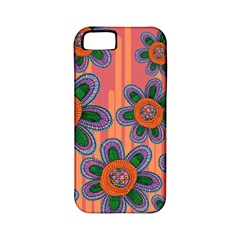 Colorful Floral Dream Apple iPhone 5 Classic Hardshell Case (PC+Silicone)
