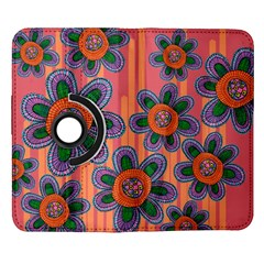 Colorful Floral Dream Samsung Galaxy Note II Flip 360 Case
