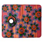 Colorful Floral Dream Samsung Galaxy Note II Flip 360 Case Front