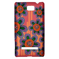 Colorful Floral Dream HTC 8S Hardshell Case
