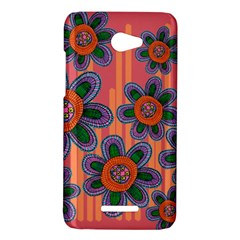 Colorful Floral Dream HTC Butterfly X920E Hardshell Case