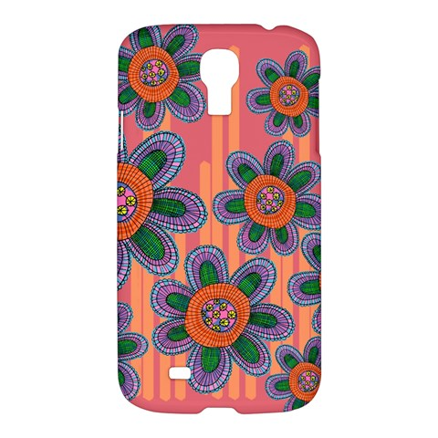 Colorful Floral Dream Samsung Galaxy S4 I9500/I9505 Hardshell Case