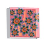 Colorful Floral Dream 4 x 4  Acrylic Photo Blocks Front