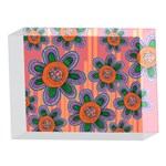 Colorful Floral Dream 5 x 7  Acrylic Photo Blocks Front