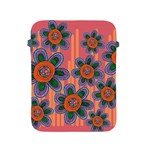 Colorful Floral Dream Apple iPad 2/3/4 Protective Soft Cases Front