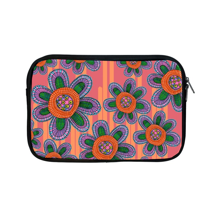 Colorful Floral Dream Apple iPad Mini Zipper Cases