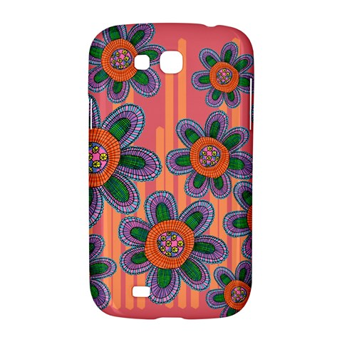 Colorful Floral Dream Samsung Galaxy Grand GT-I9128 Hardshell Case