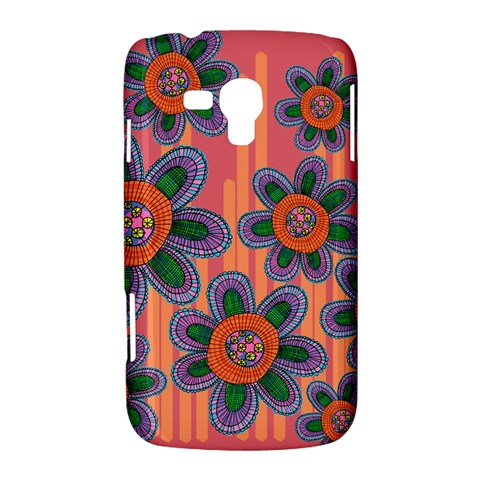 Colorful Floral Dream Samsung Galaxy Duos I8262 Hardshell Case