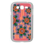 Colorful Floral Dream Samsung Galaxy Grand DUOS I9082 Case (White) Front