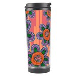 Colorful Floral Dream Travel Tumbler Center