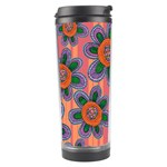 Colorful Floral Dream Travel Tumbler Right