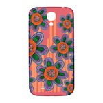 Colorful Floral Dream Samsung Galaxy S4 I9500/I9505  Hardshell Back Case Front