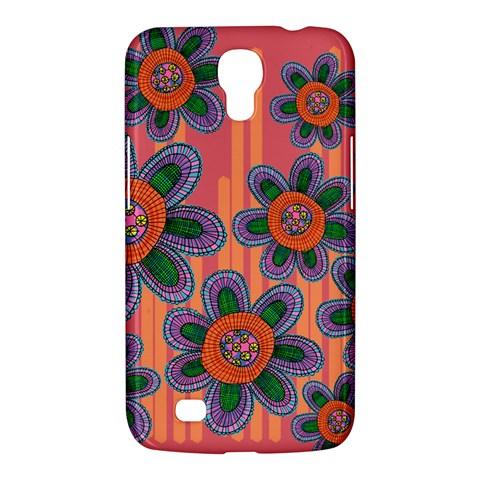 Colorful Floral Dream Samsung Galaxy Mega 6.3  I9200 Hardshell Case