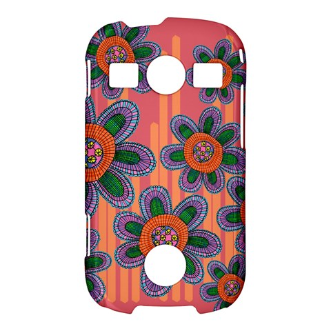 Colorful Floral Dream Samsung Galaxy S7710 Xcover 2 Hardshell Case