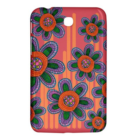 Colorful Floral Dream Samsung Galaxy Tab 3 (7 ) P3200 Hardshell Case