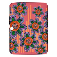 Colorful Floral Dream Samsung Galaxy Tab 3 (10 1 ) P5200 Hardshell Case