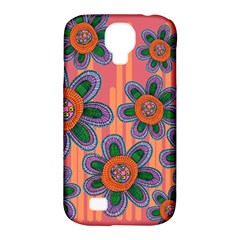 Colorful Floral Dream Samsung Galaxy S4 Classic Hardshell Case (pc+silicone)