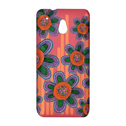 Colorful Floral Dream HTC One Mini (601e) M4 Hardshell Case