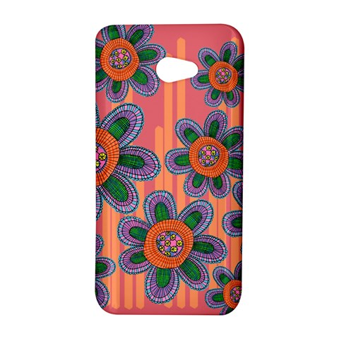 Colorful Floral Dream HTC Butterfly S/HTC 9060 Hardshell Case