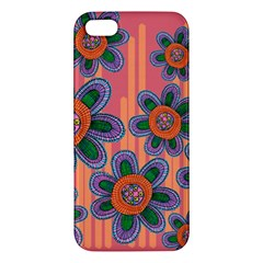 Colorful Floral Dream Iphone 5s/ Se Premium Hardshell Case