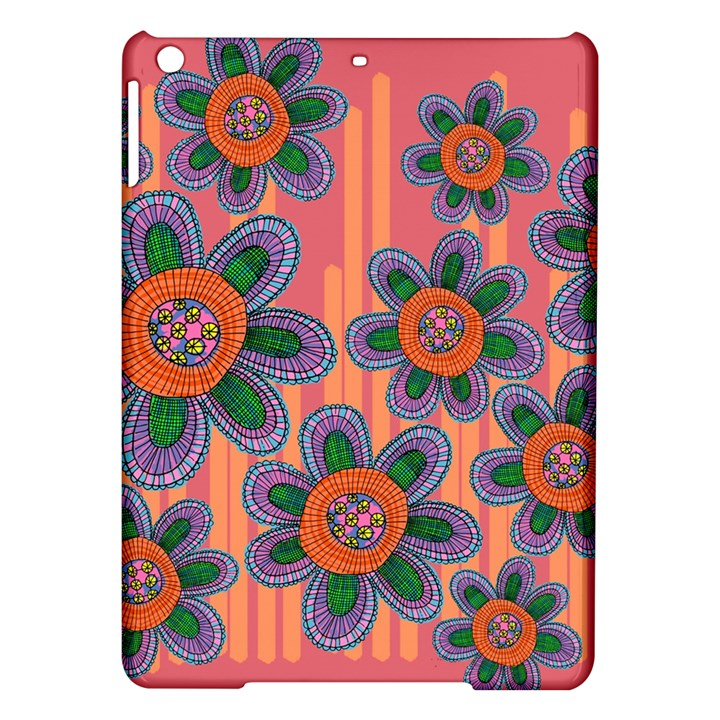 Colorful Floral Dream iPad Air Hardshell Cases