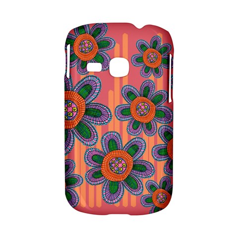 Colorful Floral Dream Samsung Galaxy S6310 Hardshell Case