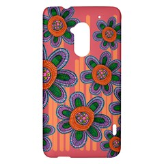 Colorful Floral Dream HTC One Max (T6) Hardshell Case